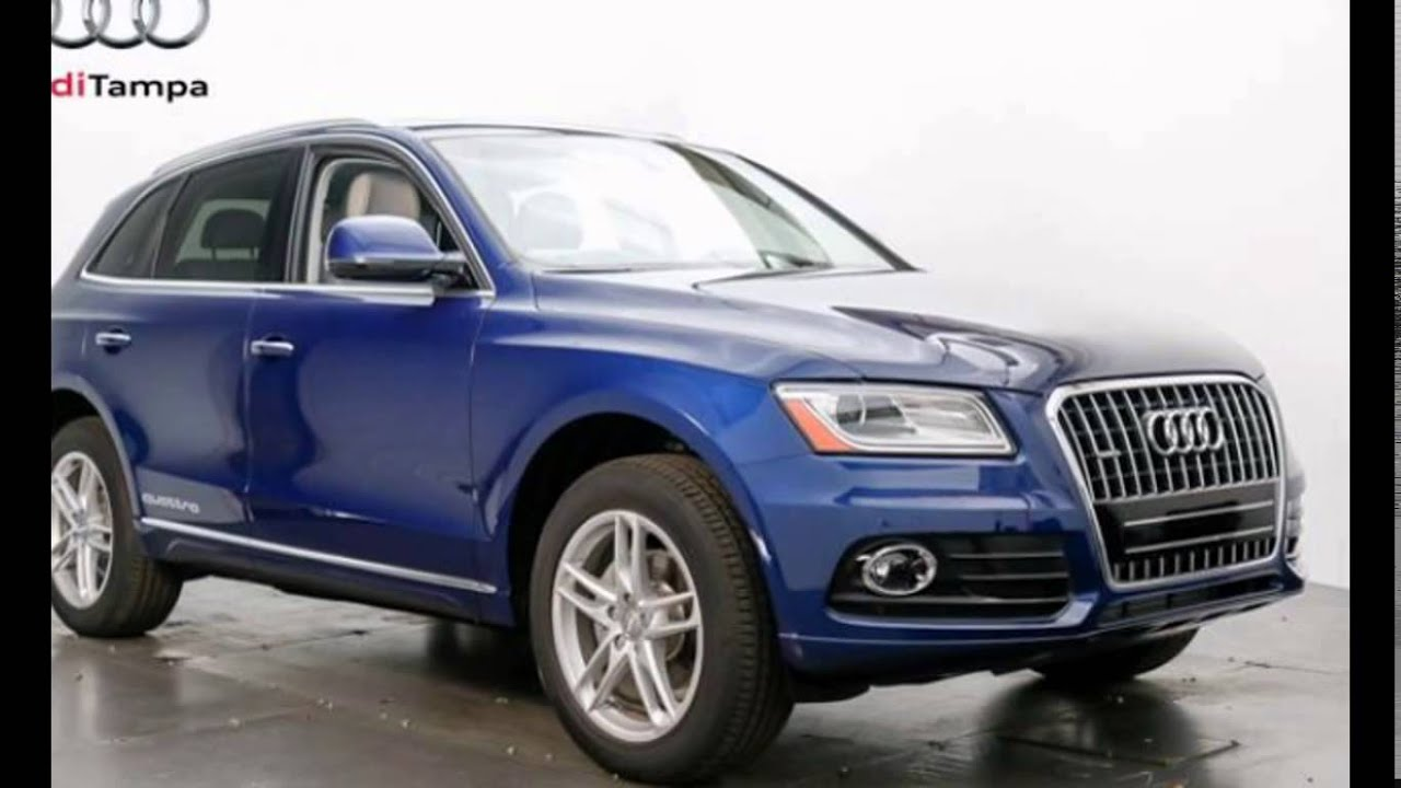 2016 audi q5 scuba blue metallic youtube. Black Bedroom Furniture Sets. Home Design Ideas