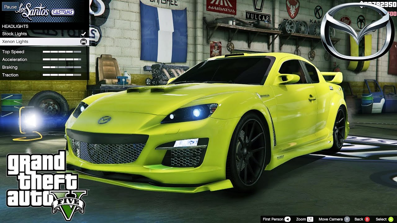 mazda rx 8 gta v car mod tuning soley911 youtube. Black Bedroom Furniture Sets. Home Design Ideas