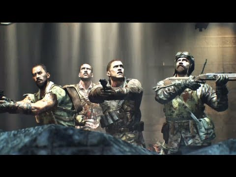 Young Vs Old Original Characters Black Ops 2 Zombies Youtube