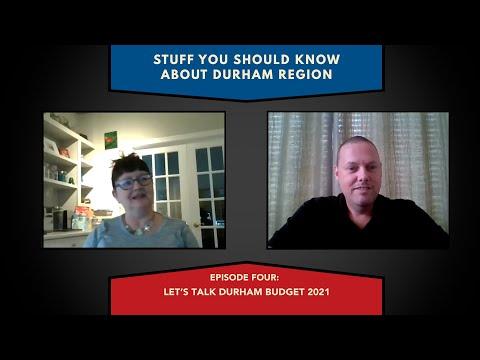 Let's talk Durham Budget 2021