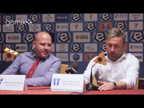 Górnik Zabrze 0-1 Wisła Płock. Konferencja prasowa: Jerzy Brzęczek (21-04-2018)