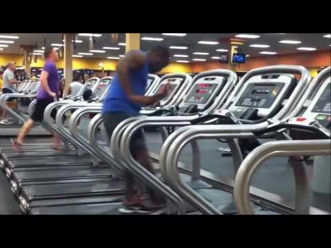 Running man [She's a maniac]