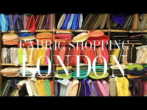 My 3 Favorite Fabric Shops on Goldhawk Road London