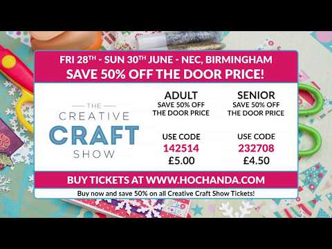 The Creative Craft Show June 2019!