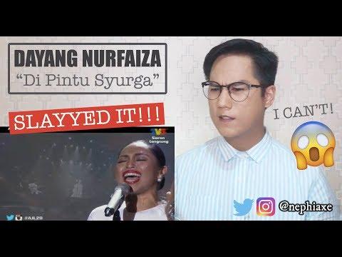 Dayang Nurfaizah - Di Pintu Syurga #AJL29 | REACTION