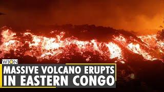 Massive volcano erupts in eastern Congo