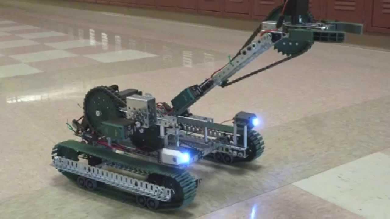 Vex Edr Cobra Robot Youtube
