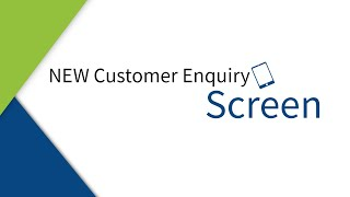 NEW Customer Enquiry Revamp