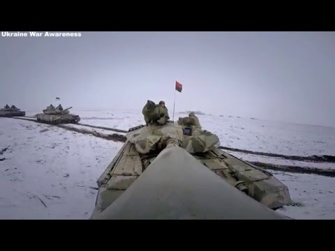 New Modernized T-64B1M for Azov & Right Sector Tank Battalion Firing Drills