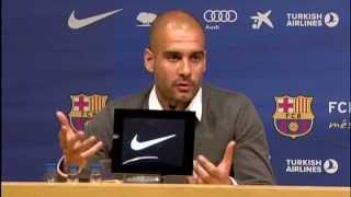 FC Barcelona - La roda de premsa de comiat de Guardiola