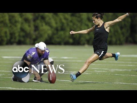 Jason Hurst - Carli Lloyd May Kick In The NFL, But Not Until 2020