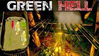 Green Hell #014 | Jetzt wird Fleisch & Fisch geräuchert | Gameplay German Deutsch thumbnail
