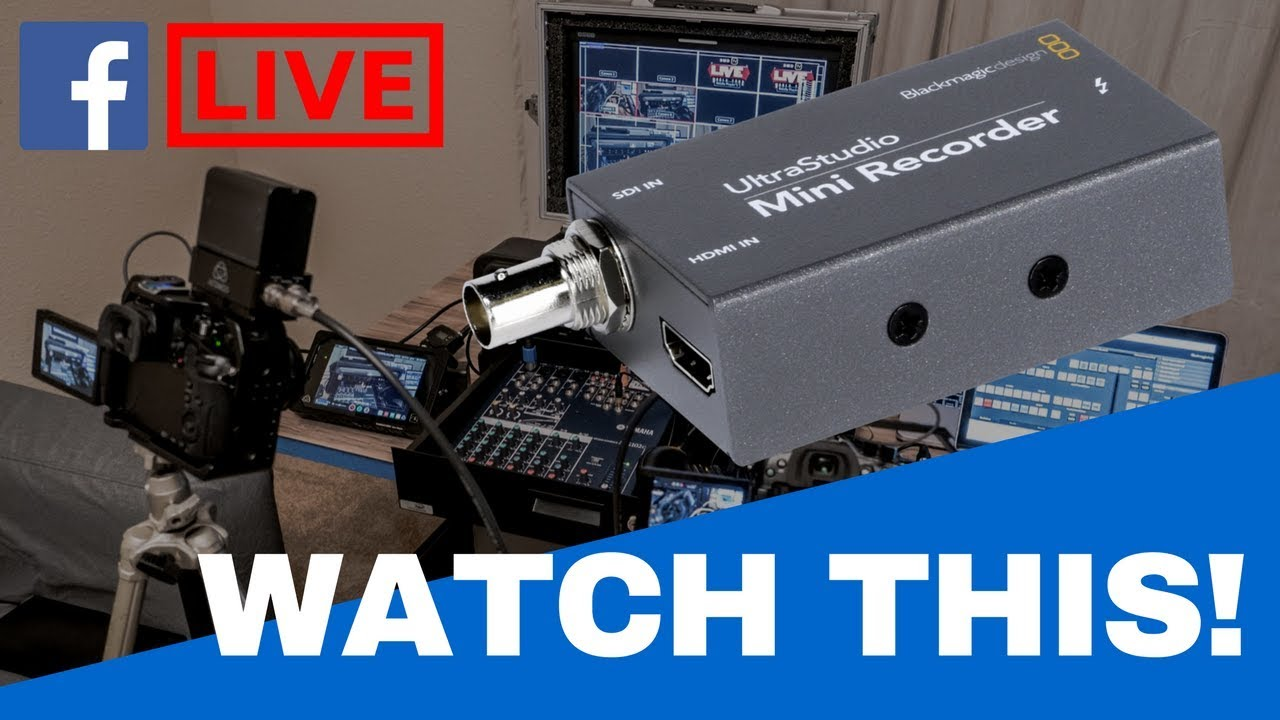 Troubleshoot Watch This Before You Setup Ultrastudio Mini Recorder For Live Streaming Youtube