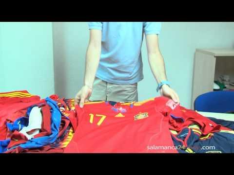 Colección camisetas selección española