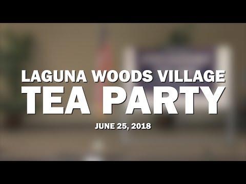 Laguna Woods Village Tea Party | June 2018 | Speaker Trevor Loudon