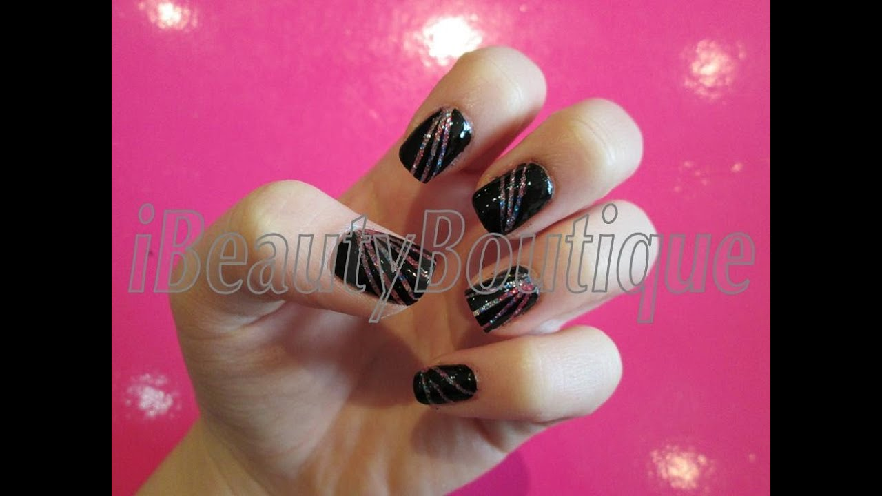 Fireworks Nail Art Ibeautyboutique Youtube