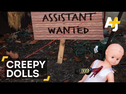 Creepy Halloween Doll Asylum Scares Portland, Oregon