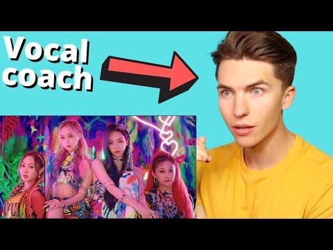 VOCAL COACH Reacts to aespa 에스파 'Black Mamba' MV