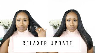 RELAXER UPDATE + RELAXER DAY ROUTINE EXPLANATION IN DETAIL  RELAXED HAIR