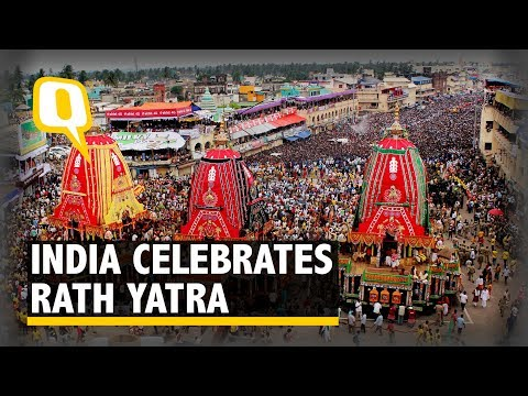 From Puri to Delhi, Devotees Celebrate Jagannath Rath Yatra - The Quint