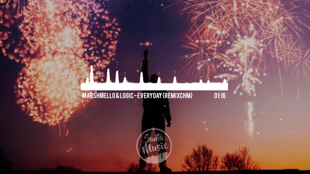 Marshmello Logic Everyday The Best Remix Youtube