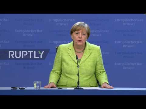 Germany: Merkel wants maximum security guarantees for EU citizens in Britain