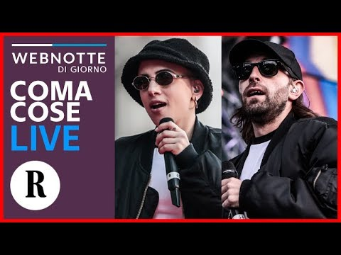 "Coma Cose cantano ""Post-Concerto"", ""Anima Lattina"" e ""Pakistan"" live a Repubblica"