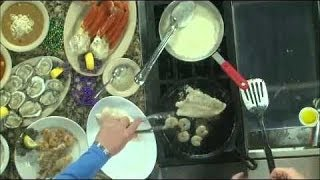 Grouper And Shrimp With White Sauce, Recipe For Grouper And Shrimp With White Sauce