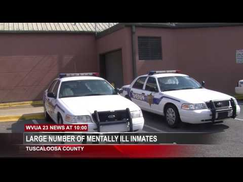 TUSCALOOSA JAIL: 30 PERCENT OF INMATES ARE MENTALLY ILL