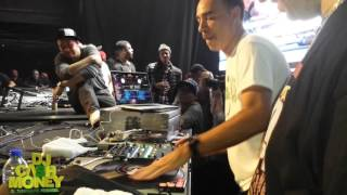 DJ Cash Money , Kid Capri & Comedian Russell Peters (Toronto , Canada 2015)