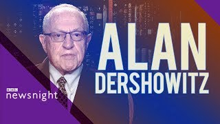Jeffrey Epstein's former lawyer, Alan Dershowitz, on his client - BBC Newsnight