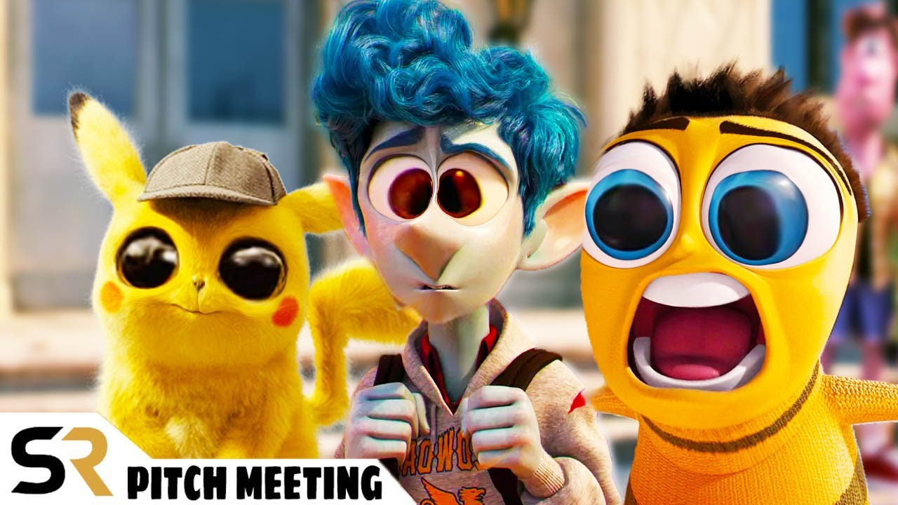 Ultimate Animated Movies Pitch Meeting Compilation