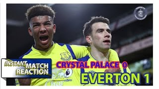 Video Gol Pertandingan Crystal Palace vs Everton