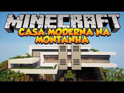 Minecraft casa moderna loki funnydog tv for Casa moderna gigante minecraft
