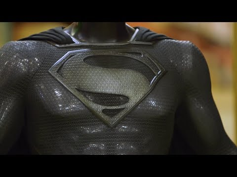 Henry Cavill's Superman Black Suit | Behind The Scenes