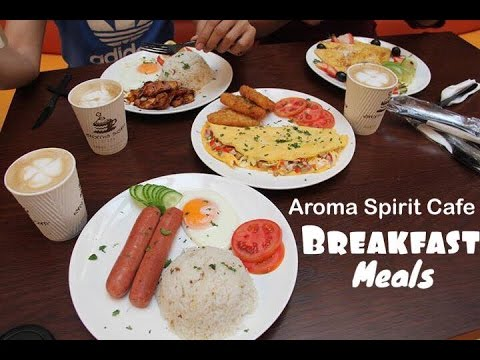 [Foodtrip] Featuring AROMA SPIRIT CAFE BREAKFAST MEALS IN DUBAI!