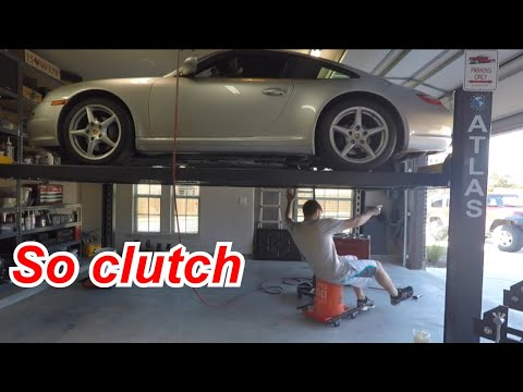 DIY Porsche 911 Clutch Replacement