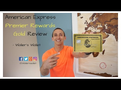 American Express Premier Rewards Gold Review | Waller's Wallet