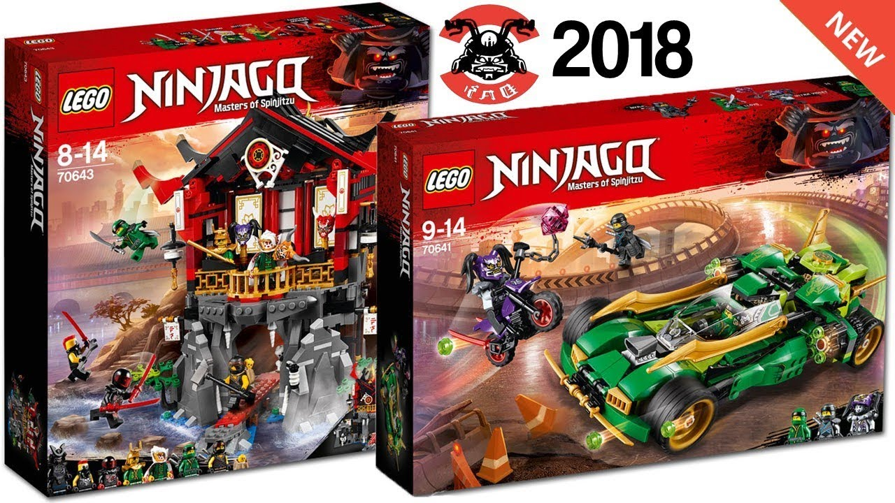 Lego Ninjago 2018 Official Sets Images Season 8 Sons Of Garmadon