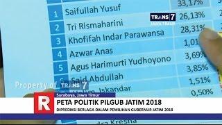 TRANS7 JAWA TIMUR - Peta Politik Pilgub Jatim Memanas