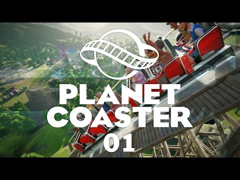 Planet Coaster #01 Challenge Mode - Let's Play
