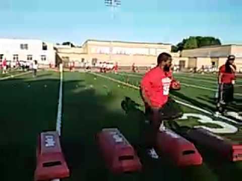 2015 Morlon Greenwood Football Camp-Amos Zereoue