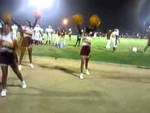 Sun valley high school cheer at Grant High - YouTube