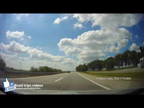 ROAD TRIP: driving through Serbia / from ZEDNIK, over BELGRADE, LJIG, GORNJI MILANOVAC to SJENICA