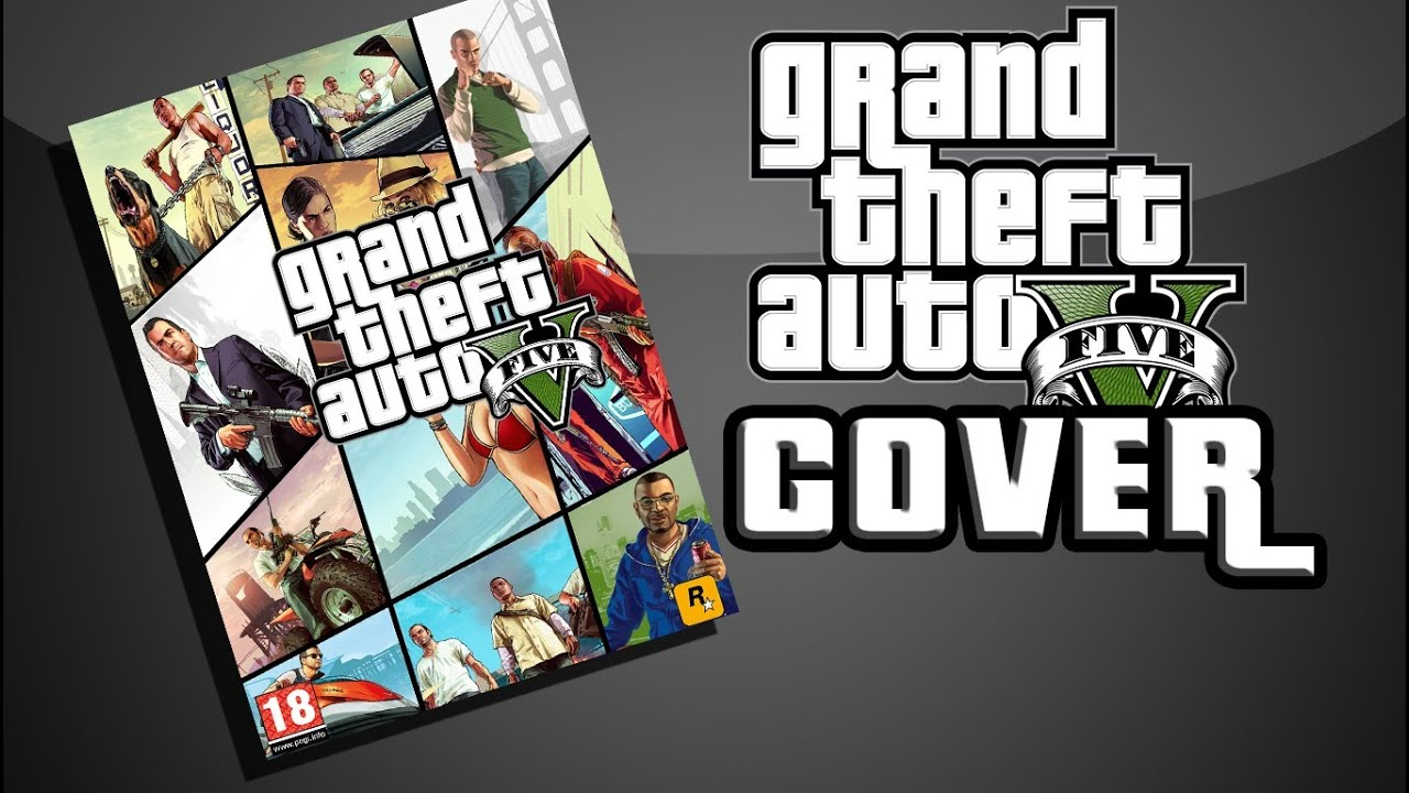 Gta 6 Cover: GTA V [ROCKSTAR] Creat Your Own COVER (Photoshop)