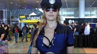 OFFICER CAITLYN! League of Legends Cosplay at PAX East 2014