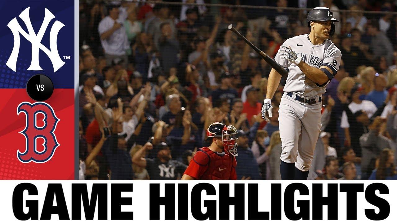 Download Yankees vs. Red Sox Game Highlights (9/25/21) | MLB Highlights