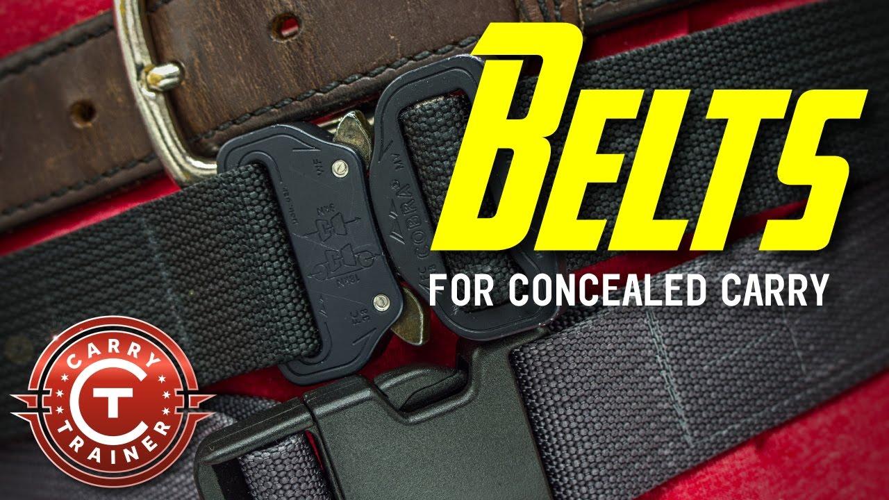 Concealed Carry Belts | Episode #28 (4K)