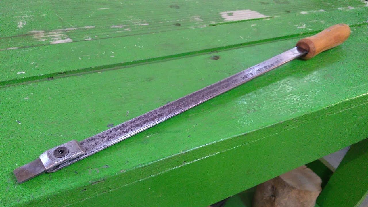 Rasquete Manual - Hand Scraping Tool