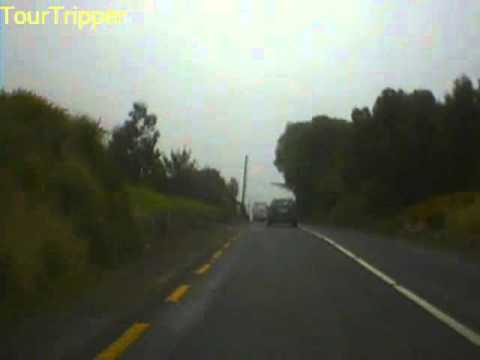 Road trip from Killorglin Co. Kerry to Cahirciveen Co. Kerry